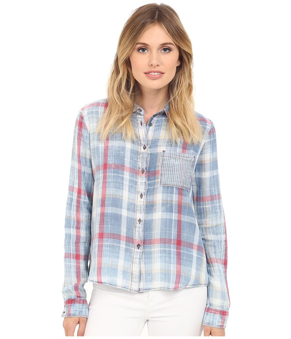 Mavi Jeans - Checked Shirt (Indigo Check) Women's Clothing