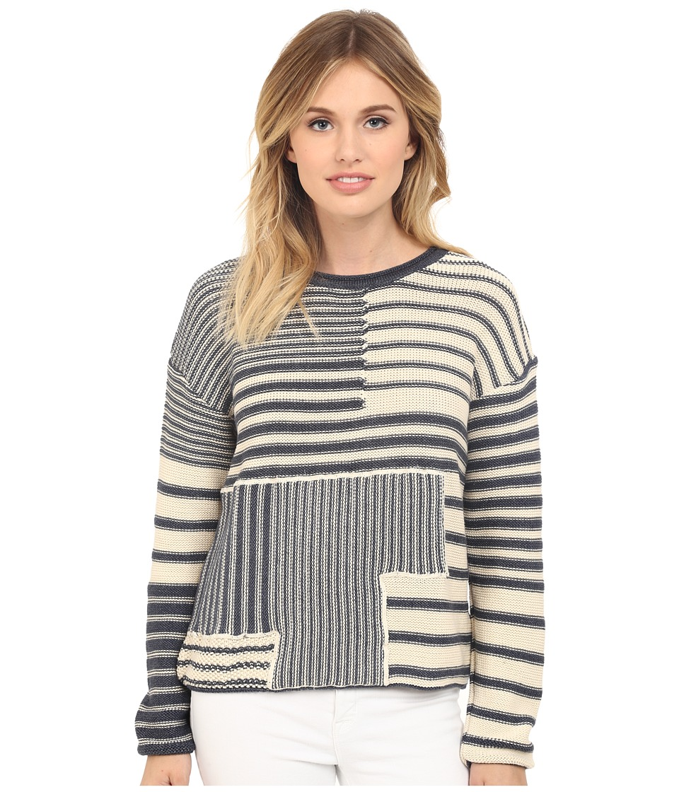 Mavi Jeans - Striped Sweater (Dress Blue) Women's Sweater