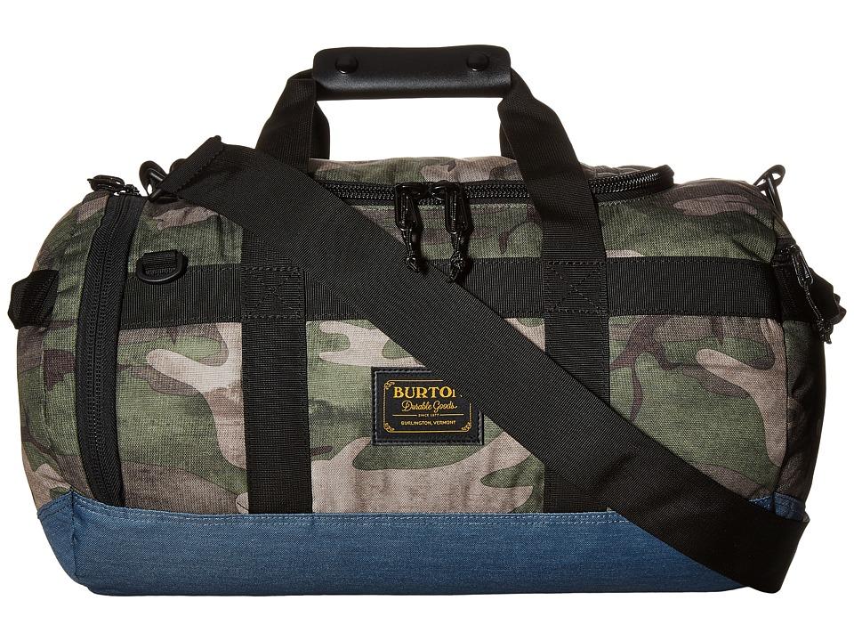 Burton - Backhill Duffel X-Small 25L (Bkamo Print) Duffel Bags