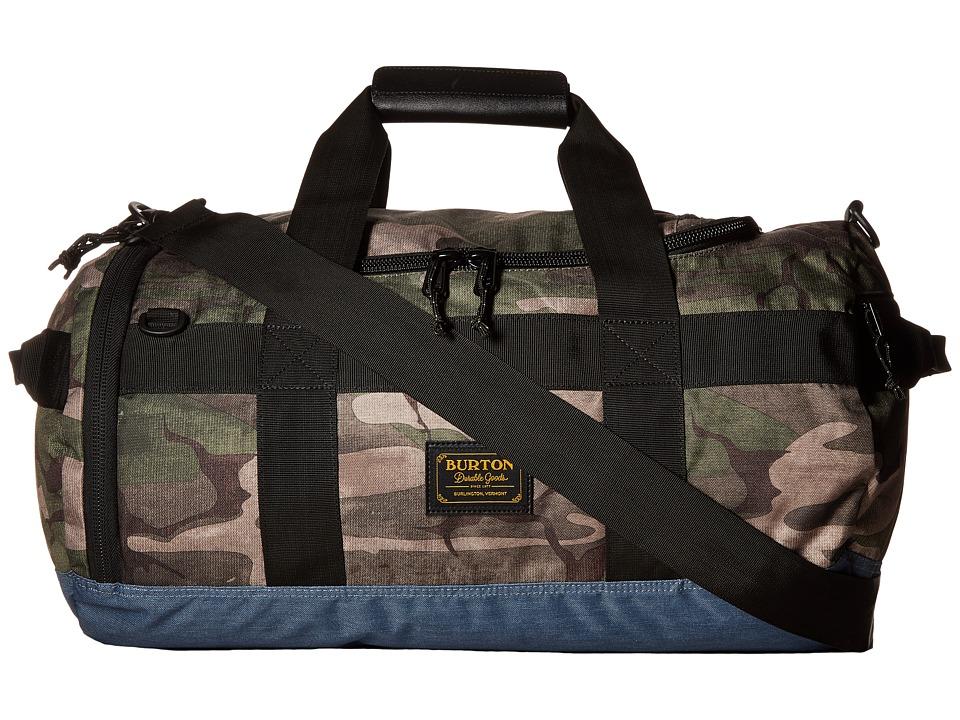 Burton - Backhill Duffel Bag Small 40L (Bkamo Print) Duffel Bags