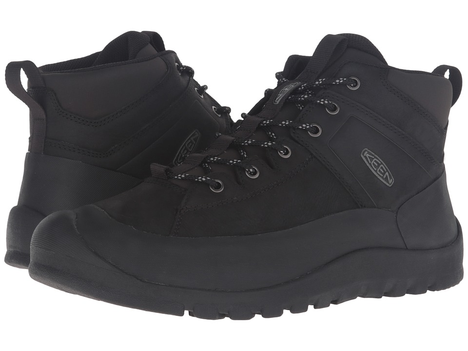 Keen - Citizen Keen Limited Waterproof (Black) Men's Waterproof Boots