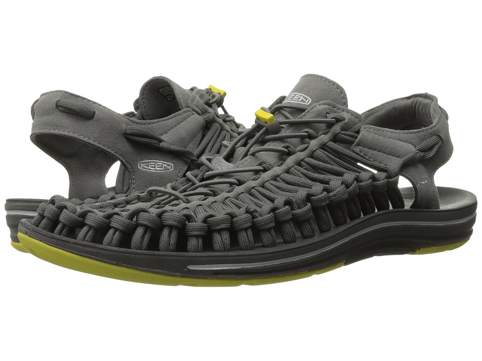 Keen - Uneek Flat (Gargoyle/Magnet) Men's Shoes