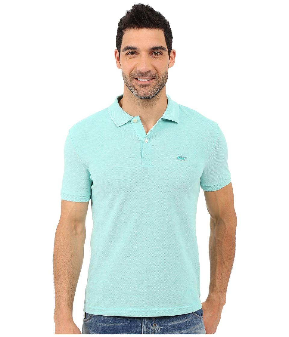Lacoste - Caviar Piqu Polo Shirt (Papeete/Flour) Men's Short Sleeve Pullover