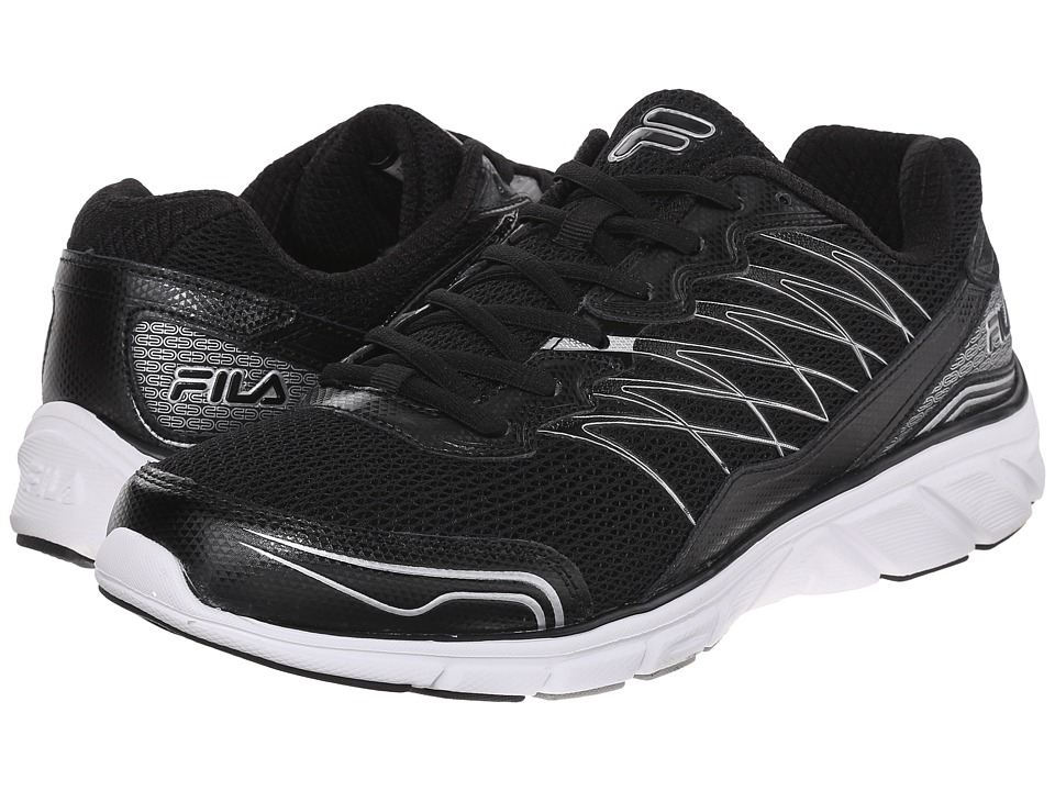 Fila Countdown 2 (Black/Black/Metallic Silver) Men