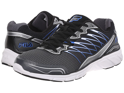 Fila - Countdown 2 (Castlerock/Black/Prince Blue) Men's Shoes