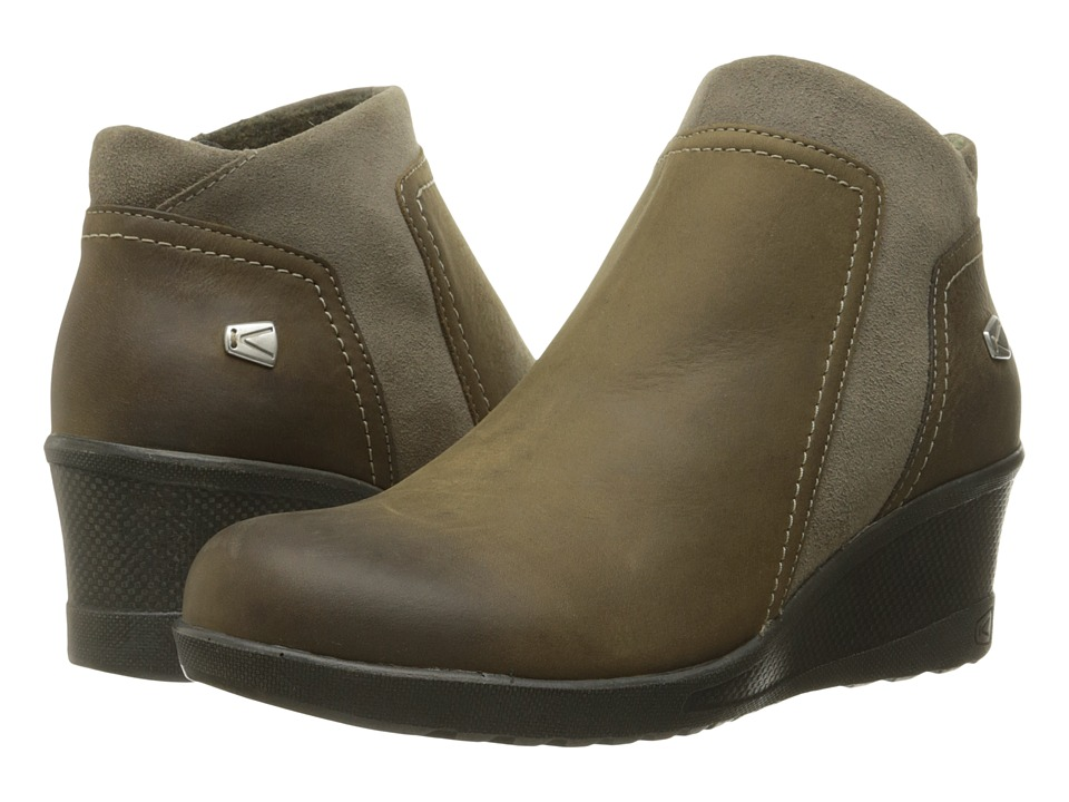 Keen - Keen Wedge Zip (Brindle) Women's Wedge Shoes