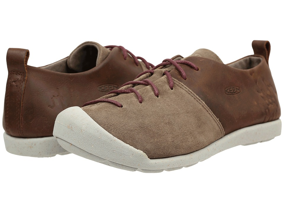 Keen - Lower East Side Lace (Brindle/Zinfandel) Women's Shoes