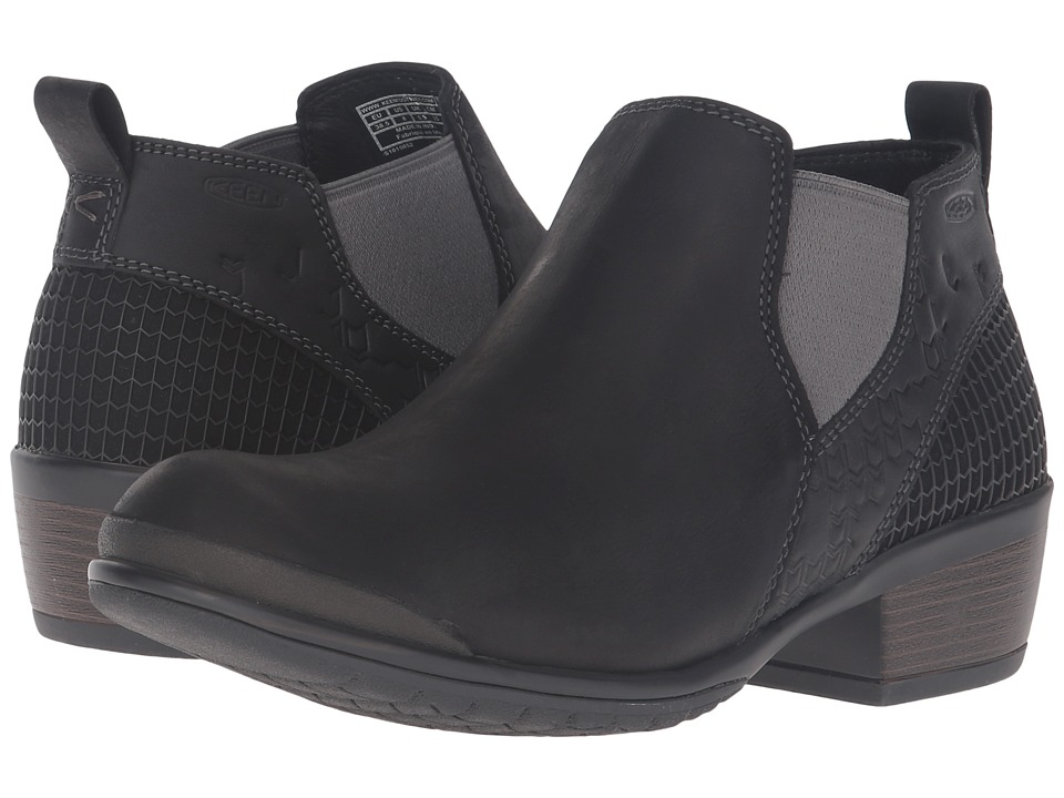 Keen - Morrison Chelsea (Black) Women's Shoes