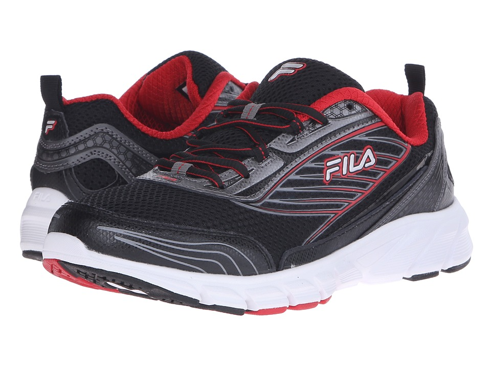 Fila - Forward 2 (Black/Dark Silver/Fila Red) Men's Shoes