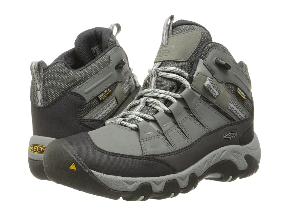 Keen - Oakridge Mid Polar (Moon Mist/Desert Sage) Women's Shoes