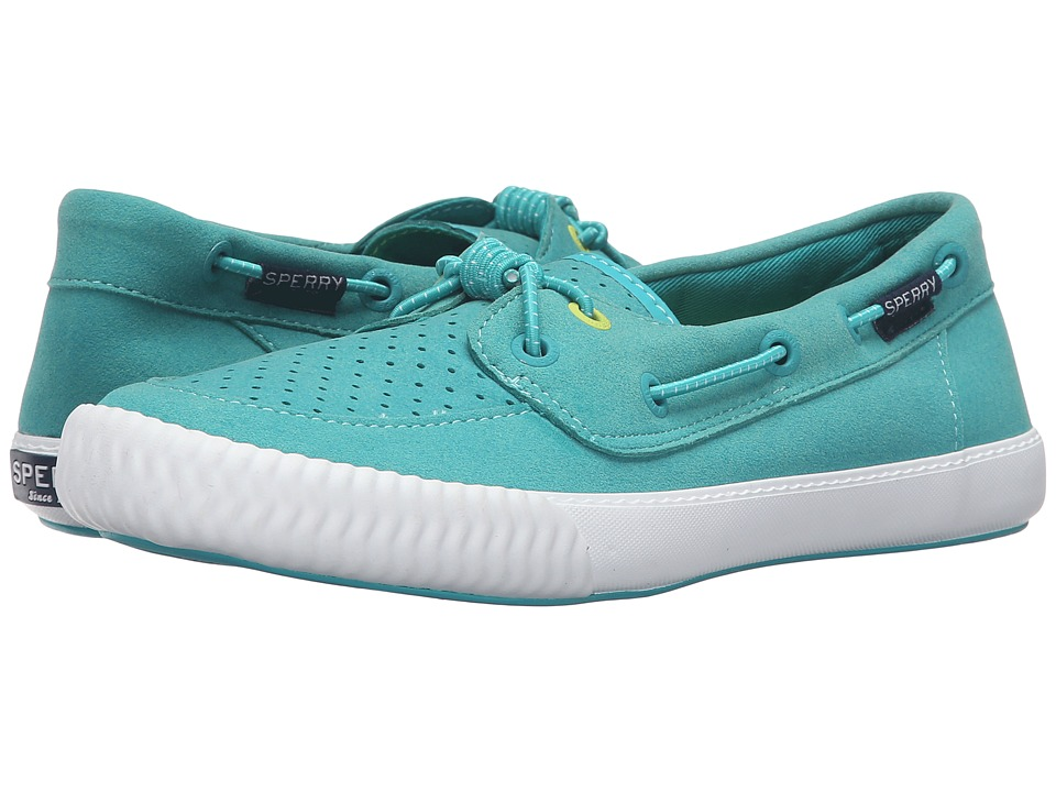 Sperry - Sayel Away Sport (Teal) Women's Lace Up Moc Toe Shoes