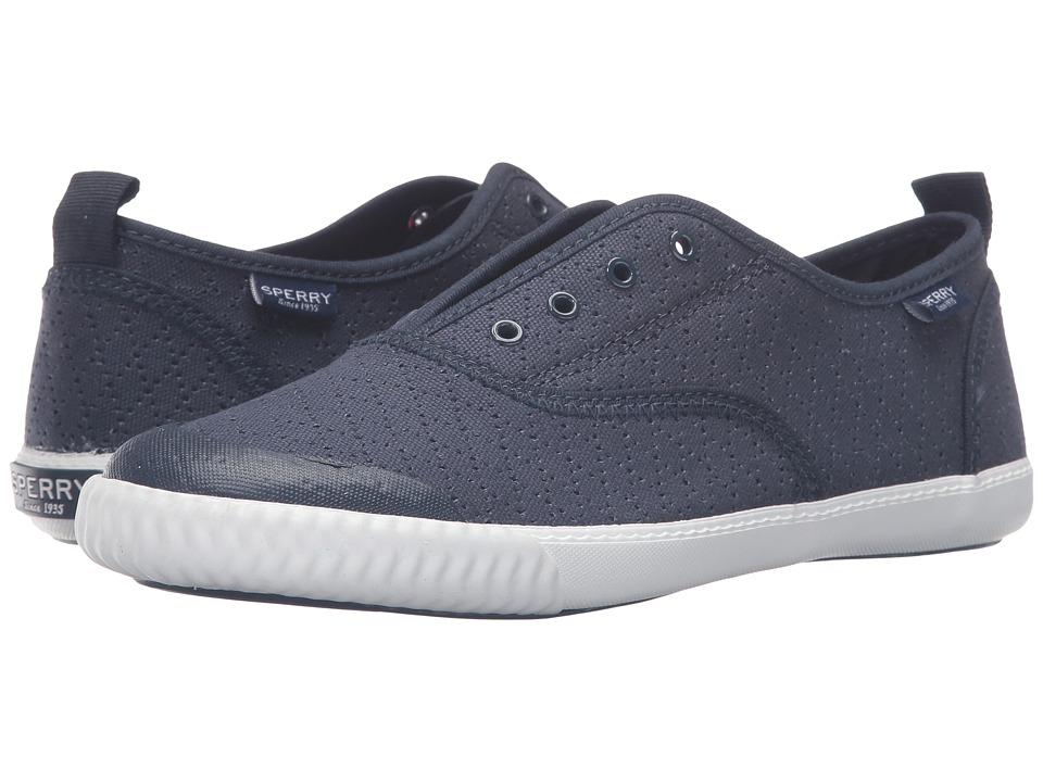 Sperry Top-Sider Sayel Clew Perf Canvas (Navy) Women