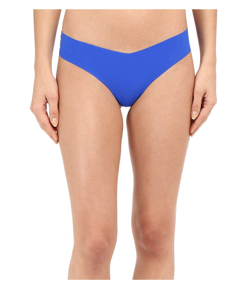 Commando - Solid Thong CT01 (Electric Blue) Women's Underwear