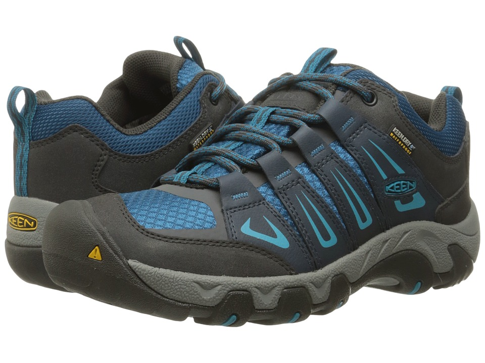 Keen - Oakridge Waterproof (Raven/Seaport) Women's Waterproof Boots