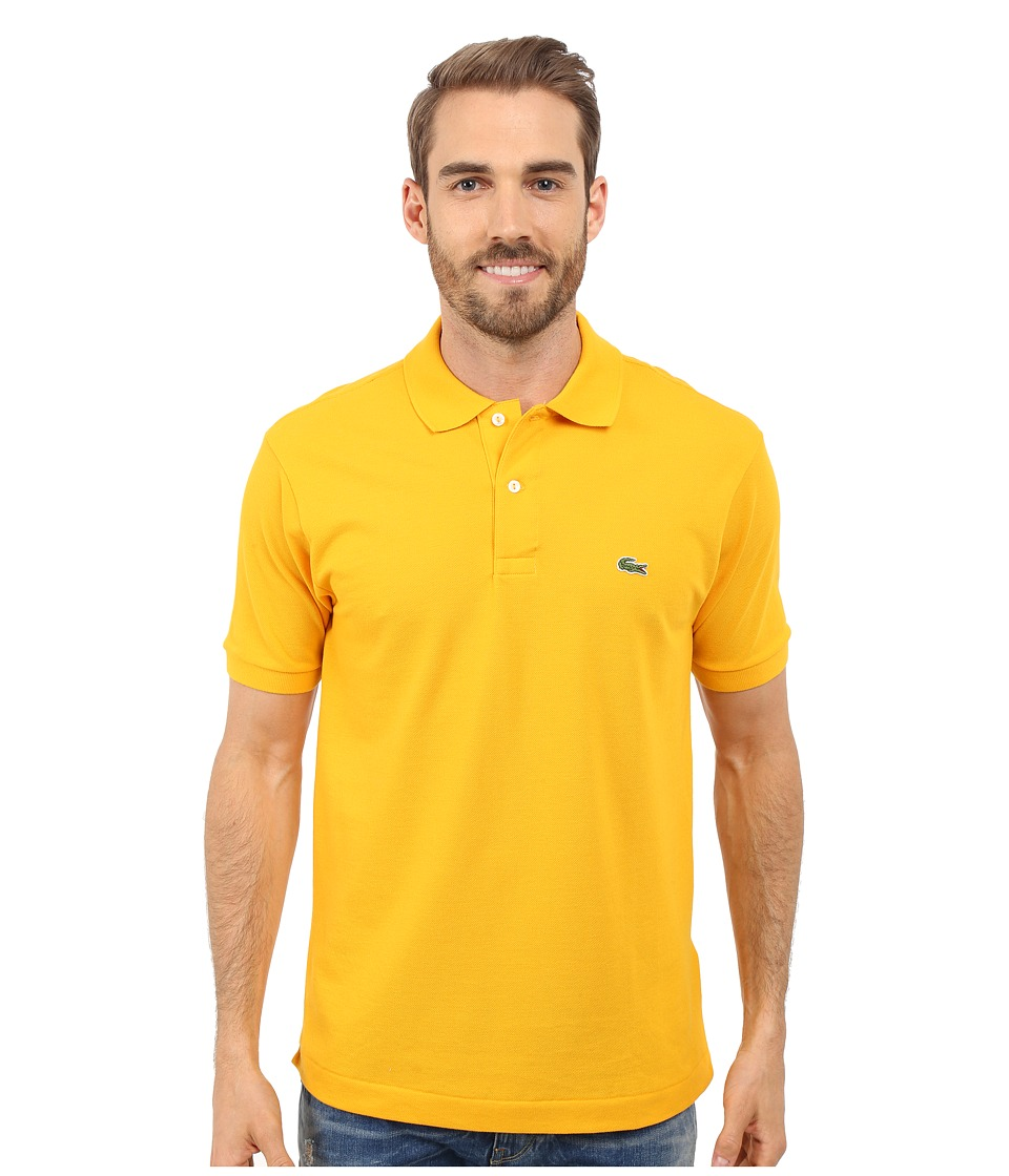 Lacoste - L1212 Classic Pique Polo Shirt (Buttercup) Men's Short Sleeve Knit