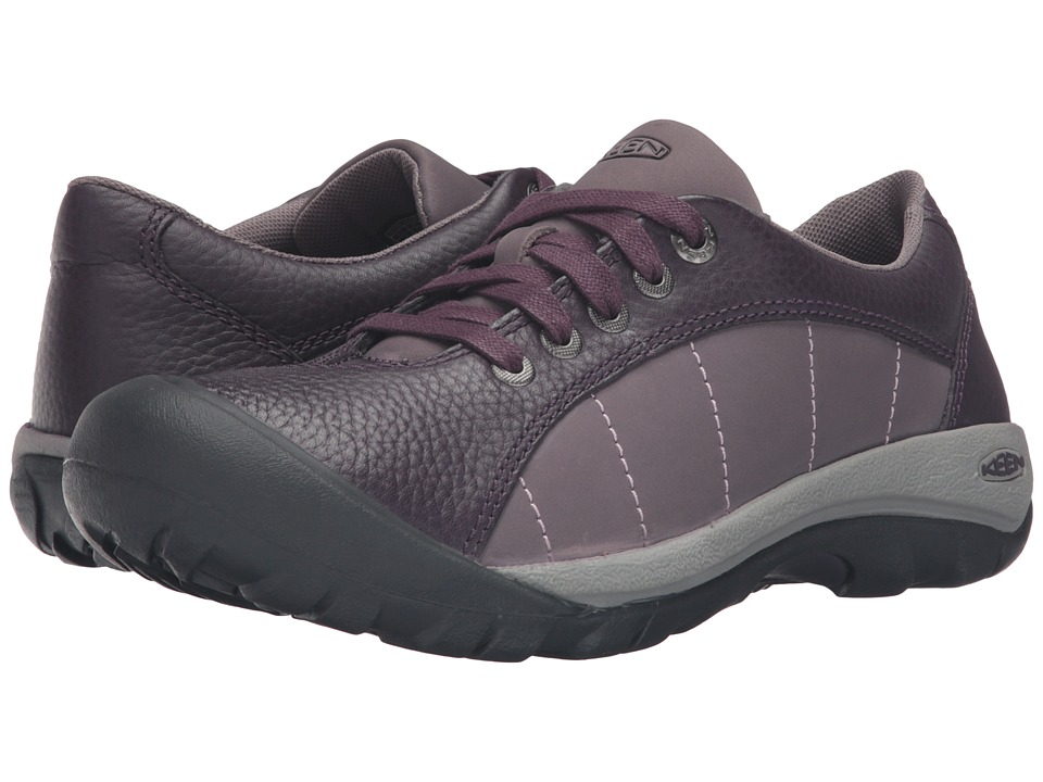 Keen - Presidio (Plum) Women's Lace up casual Shoes