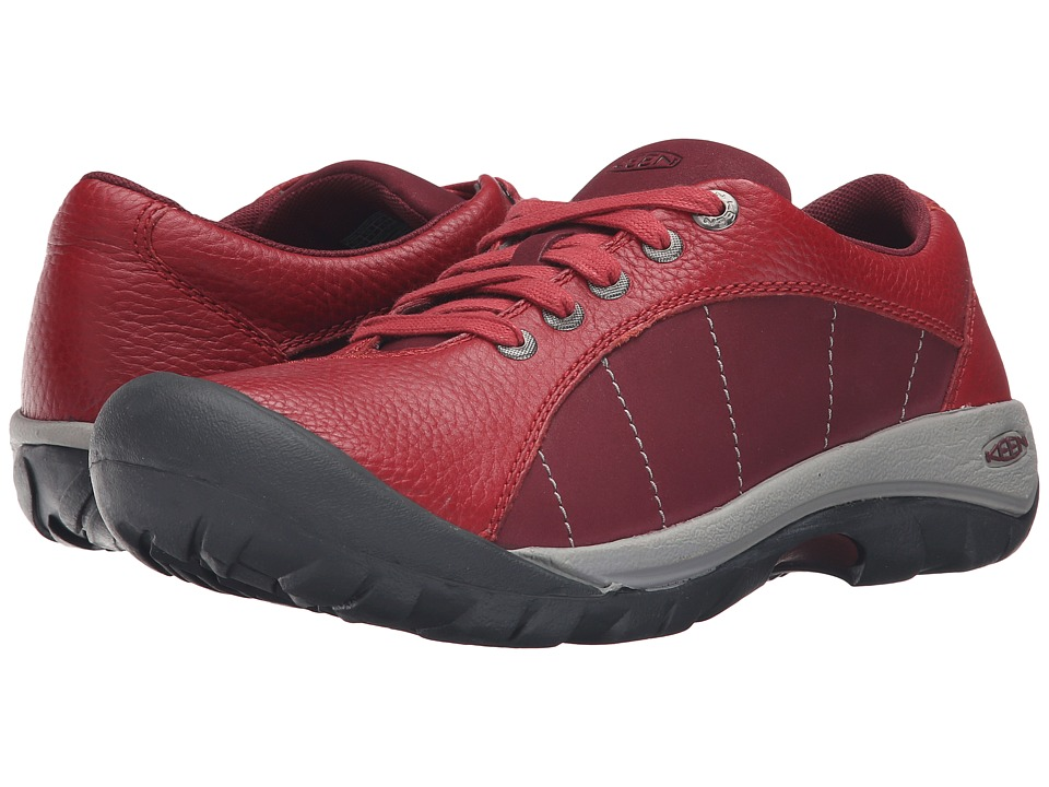 Keen - Presidio (Red Dahlia 1) Women's Lace up casual Shoes