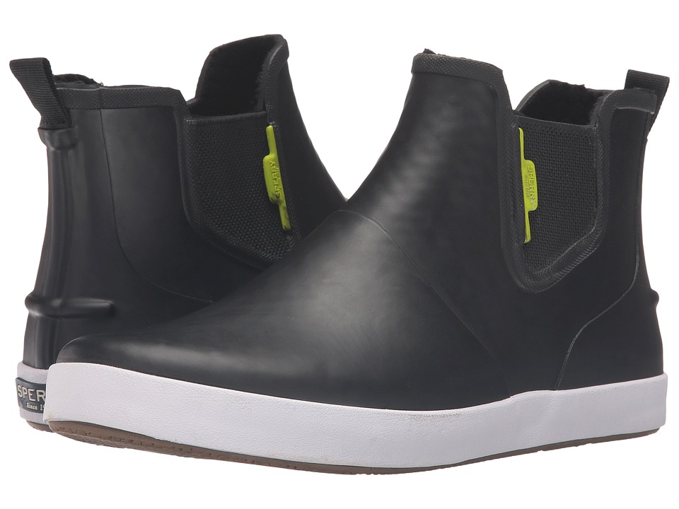 Sperry Flex Deck (Black/Lime) Women