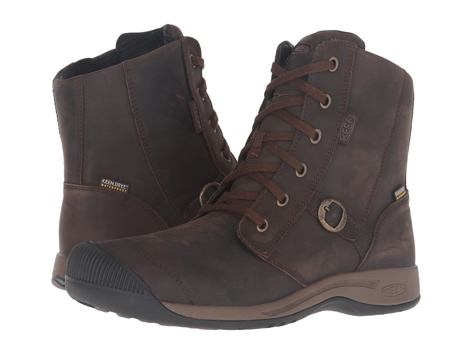 Keen - Reisen Zip Waterproof FG (Belgian) Women's Waterproof Boots