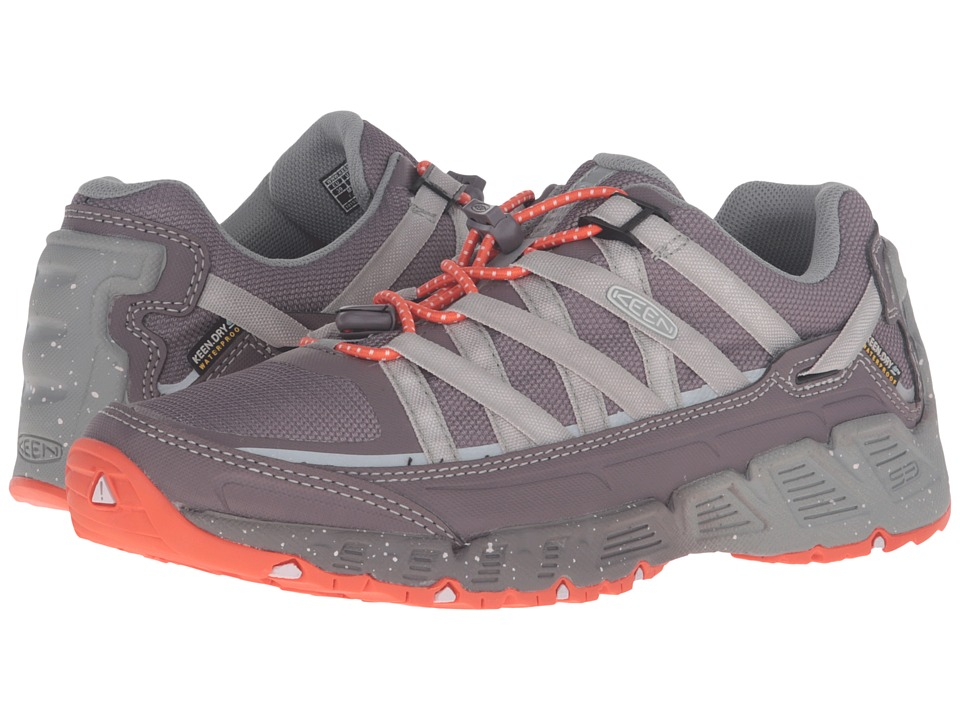 Keen Versatrail Waterproof (Shark/Tiger Lily) Women