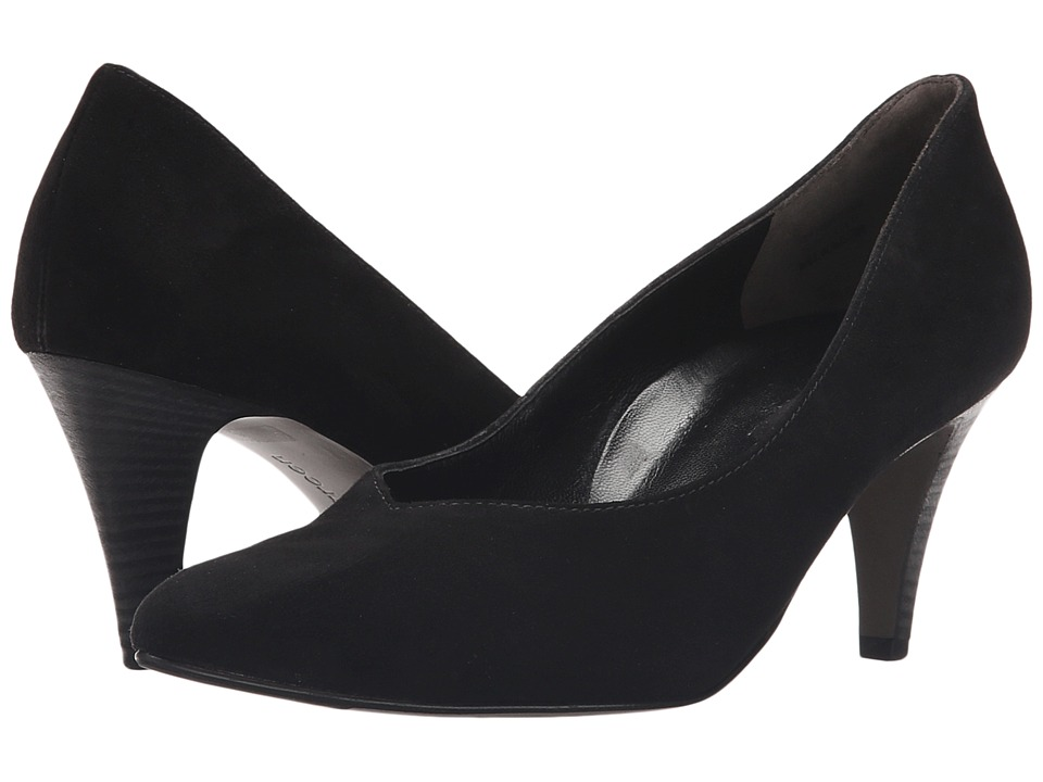Paul Green - Halle Pump (Black Suede) High Heels