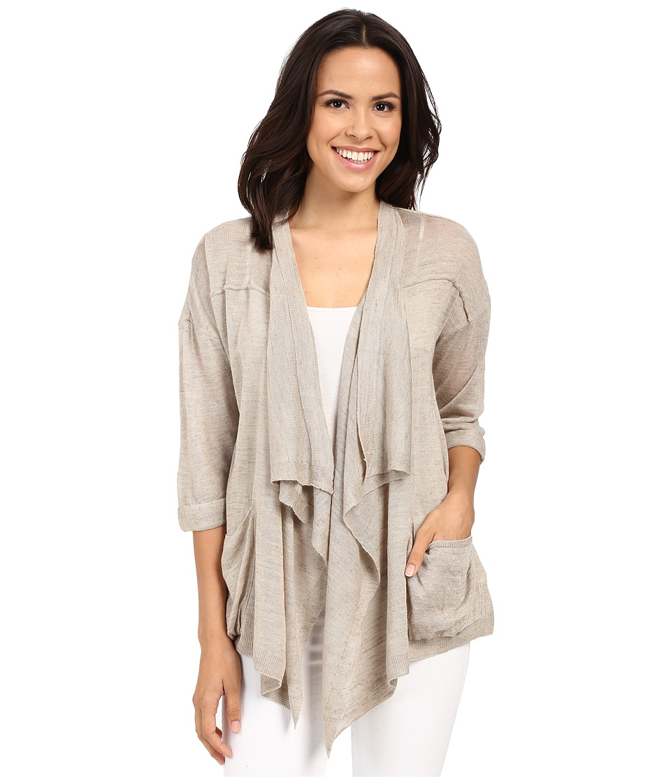 Mavi Jeans - Open Front Cardigan (Ice Grey) Women's Sweater