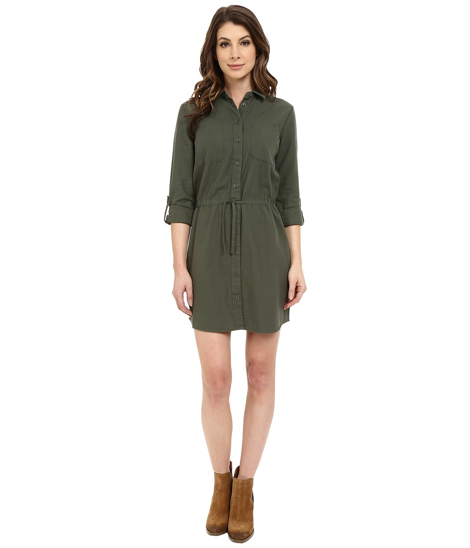 Mavi Jeans - Pocket Dress (Thyme) Women's Dress