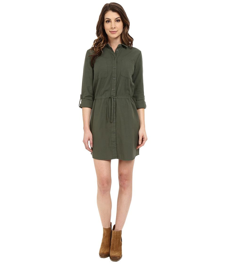 Mavi Jeans Pocket Dress (Thyme) Women