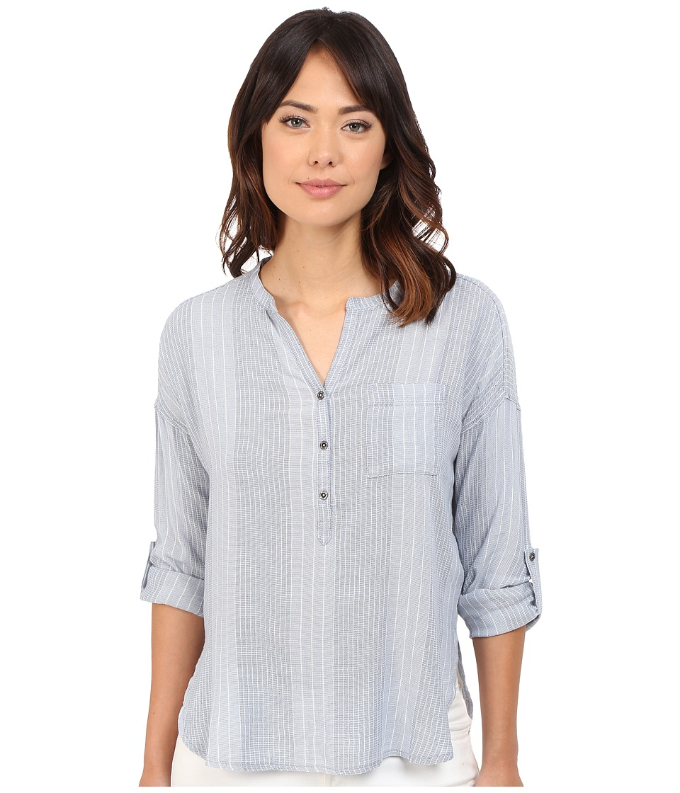 Mavi Jeans - Pocket Blouse (Skyway) Women's Blouse