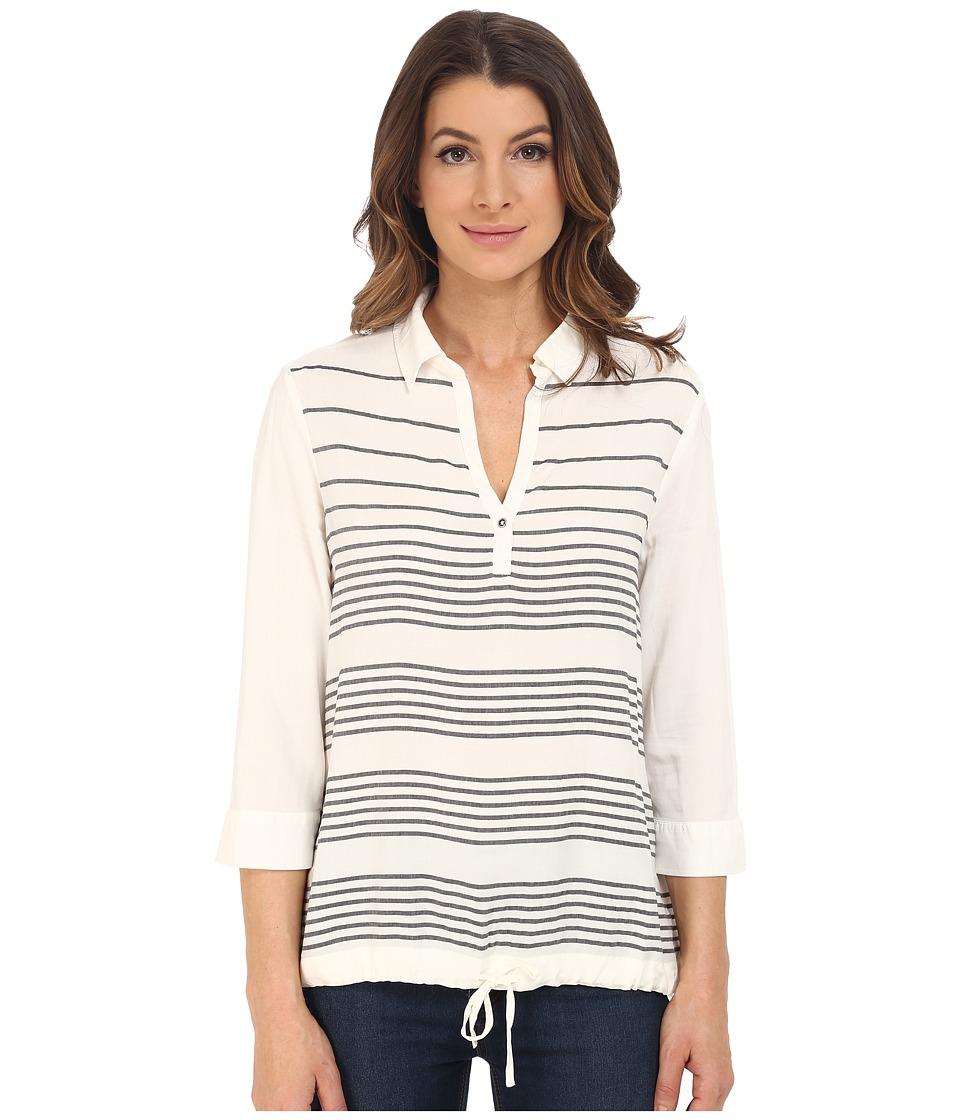 Mavi Jeans Striped Blouse (Antique White Striped) Women