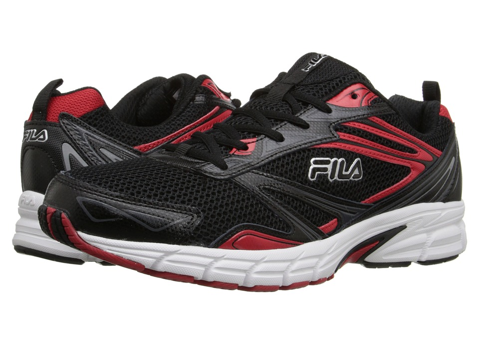 Fila Royalty (Black/Fila Red/White) Men