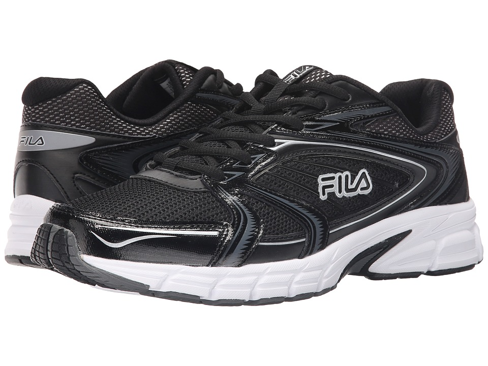 Fila - Reckoning 7 (Black/Castlerock/Metallic Silver) Men's Shoes