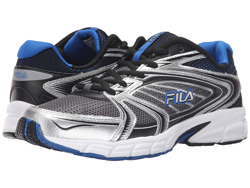 Fila - Reckoning 7 (Castlerock/Metallic Silver/Prince Blue) Men's Shoes