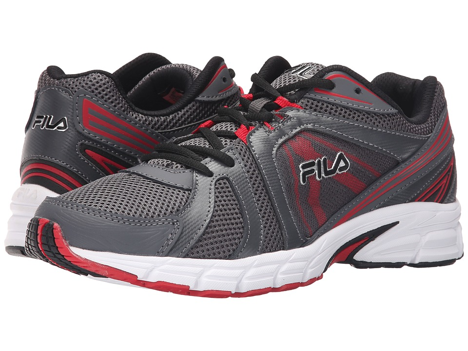 Fila - Gravion (Castlerock/Fila Red/Black) Men