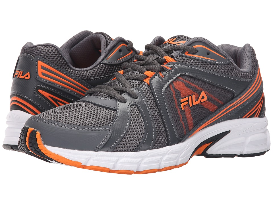 Fila - Gravion (Castlerock/Vibrant Orange/Black) Men