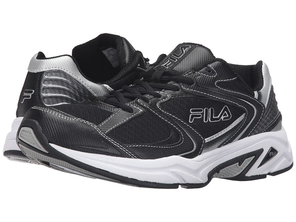 Fila Thunderfire (Black/Black/Metallic Silver) Men