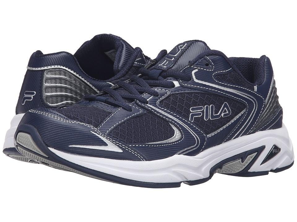 Fila Thunderfire (Fila Navy/Fila Navy/Metallic Silver) Men
