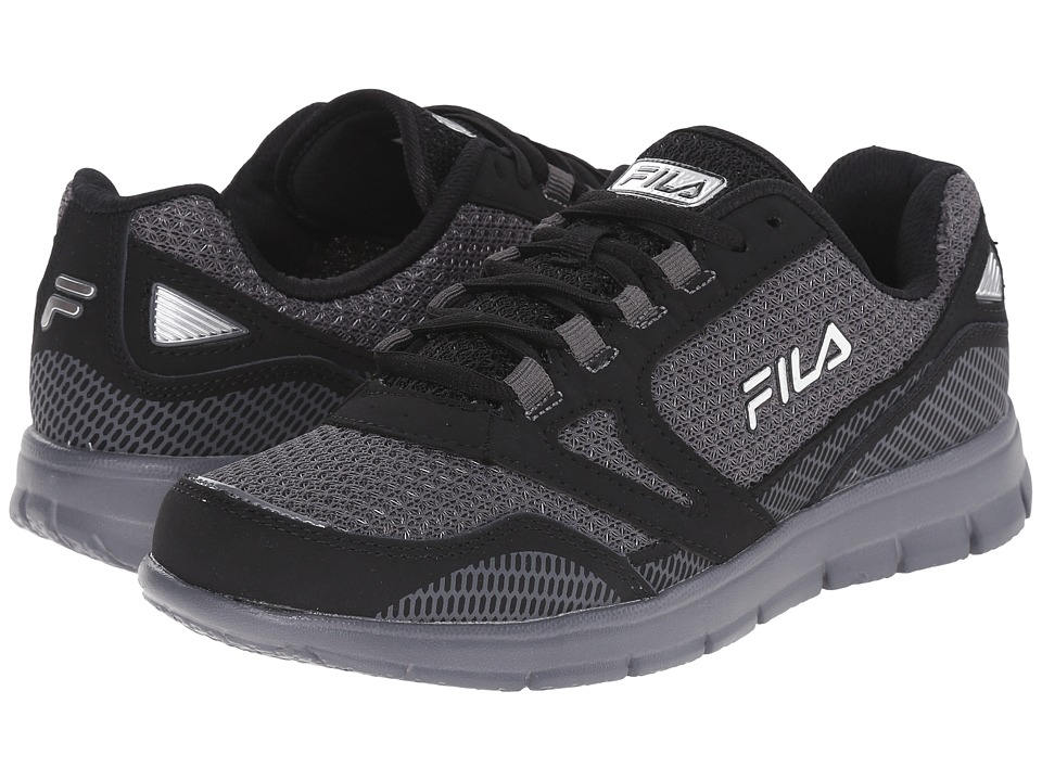 Fila - Direction (Castlerock/Black/Metallic Silver) Men's Shoes