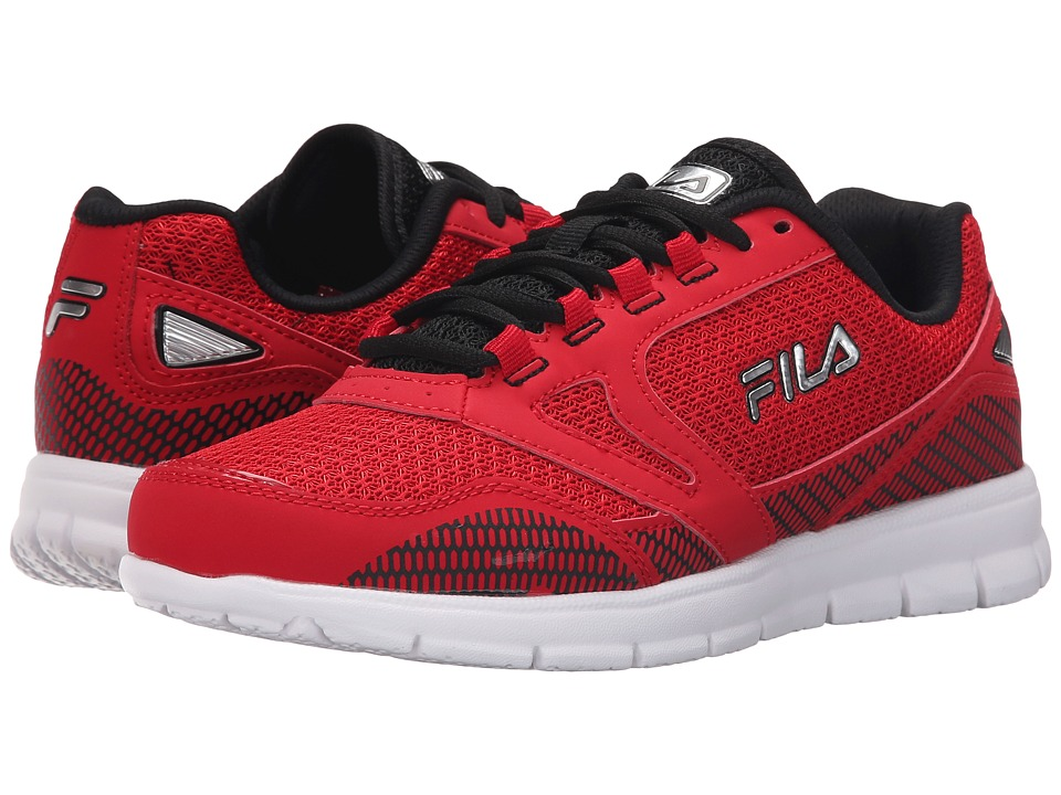 Fila Direction (Fila Red/Black/Metallic Silver) Men