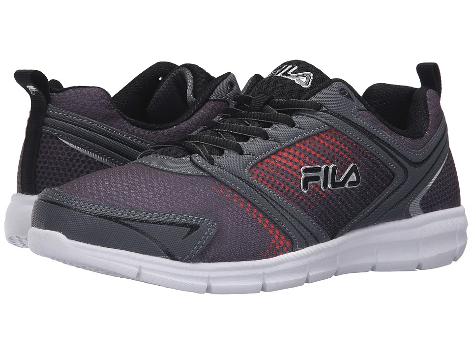 Fila Windstar 2 (Castlerock/Black/Vibrant Orange) Men