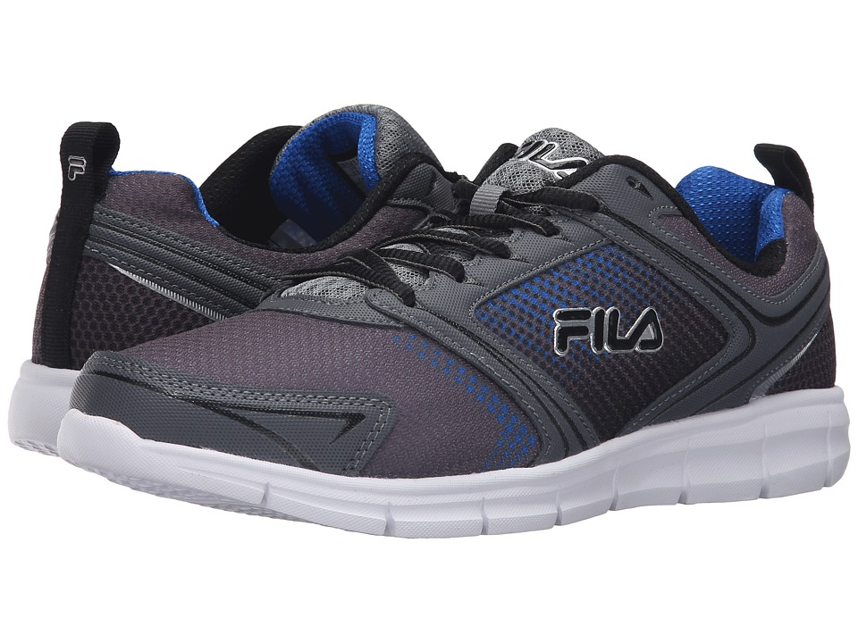 Fila - Windstar 2 (Castlerock/Monument/Prince Blue) Men's Shoes