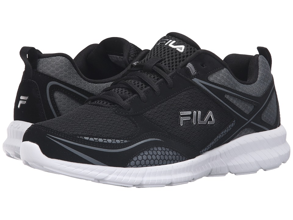 Fila Speedway (Black/Black/Dark Shadow) Men