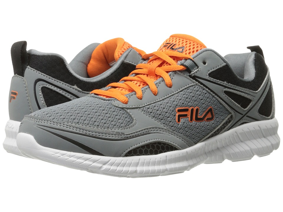 Fila Speedway (Monument/Black/Vibrant Orange) Men