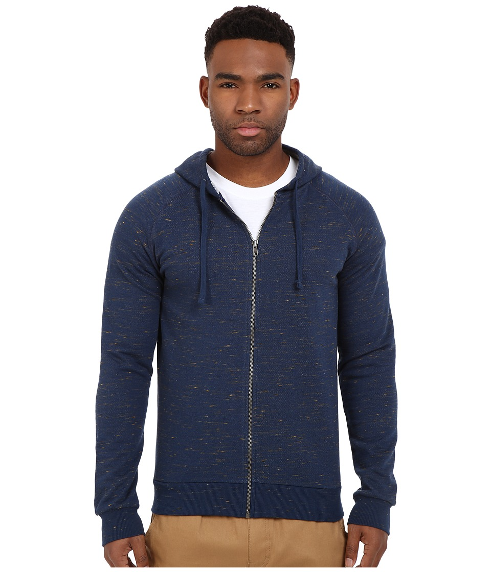 Mavi Jeans - Zip-Up Hoodie (Mood Indigo) Men's Sweatshirt