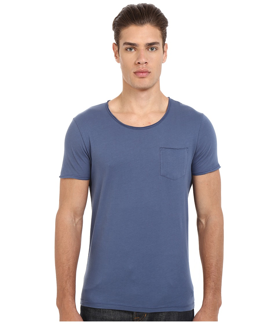 Mavi Jeans - Basic Crew Neck Tee (Vintage Indigo) Men's T Shirt plus size,  plus size fashion plus size appare