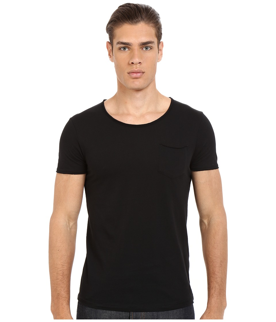 Mavi Jeans - Basic Crew Neck Tee (Black) Men's T Shirt