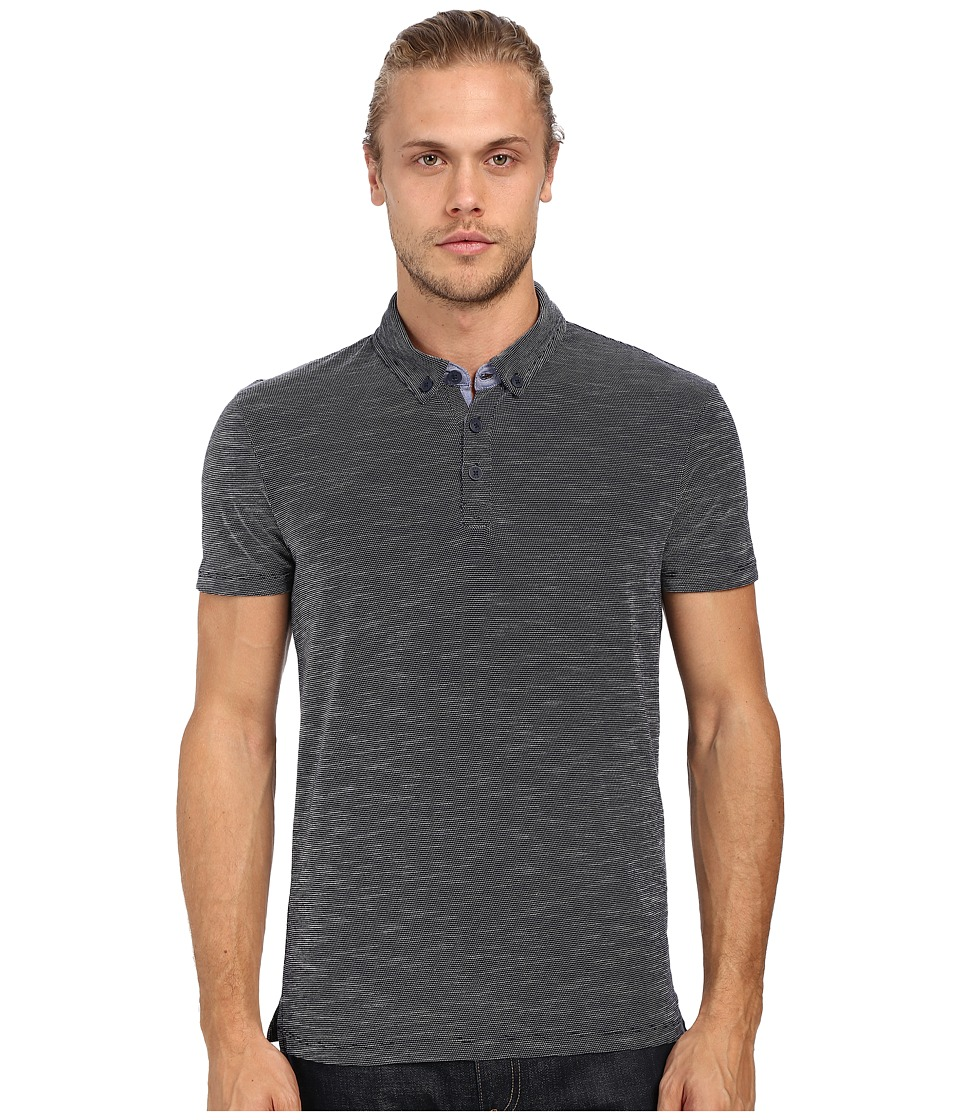 Mavi Jeans - Polo Tee (Total Eclipse) Men's T Shirt