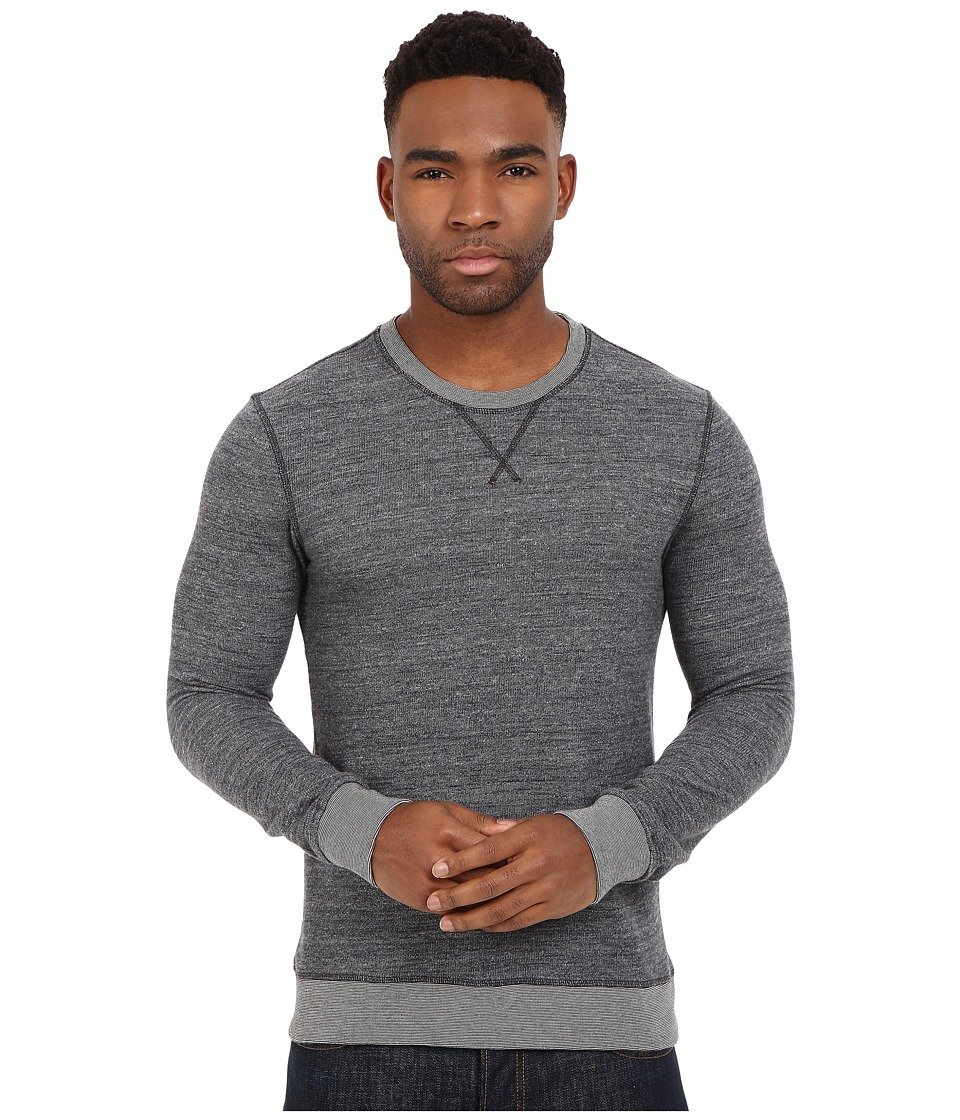 Mavi Jeans - Long Sleeve Sweatshirt (Total Eclipse) Men's Sweatshirt