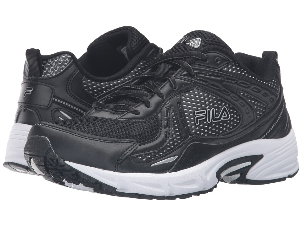 Fila - Validation (Black/Black/Metallic Silver) Men