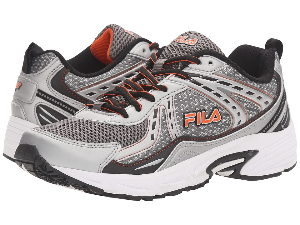 Fila - Validation (Dark Silver/Black/Red Orange) Men